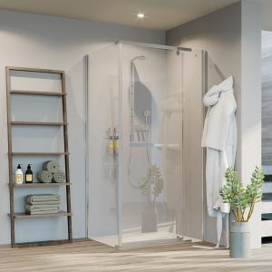 Semi-Framed Shower Enclosures