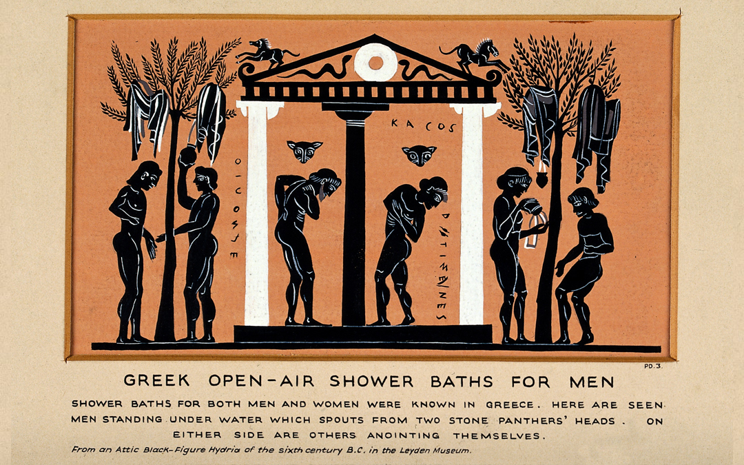 Ever wonder how the shower was invented?
